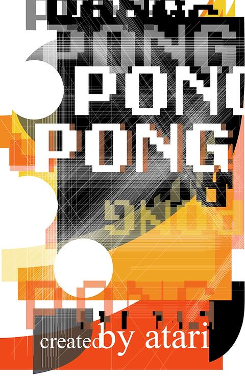 Pong, Wolfgang Weingart Inspired