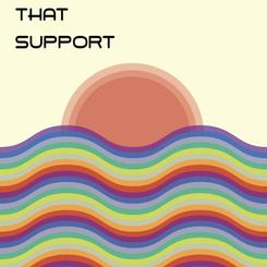 Concept for LGBTCC pride poster, 2019.