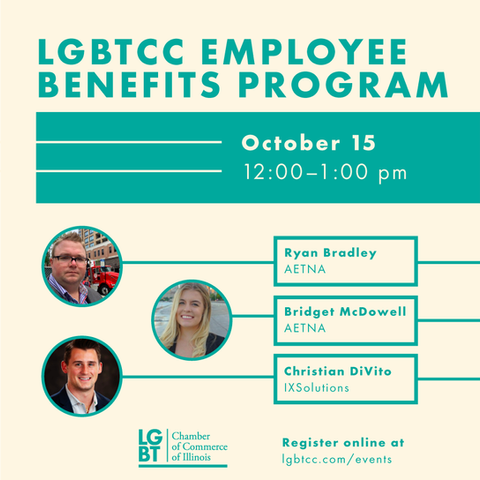 Flyer for LGBTCC virtual panel