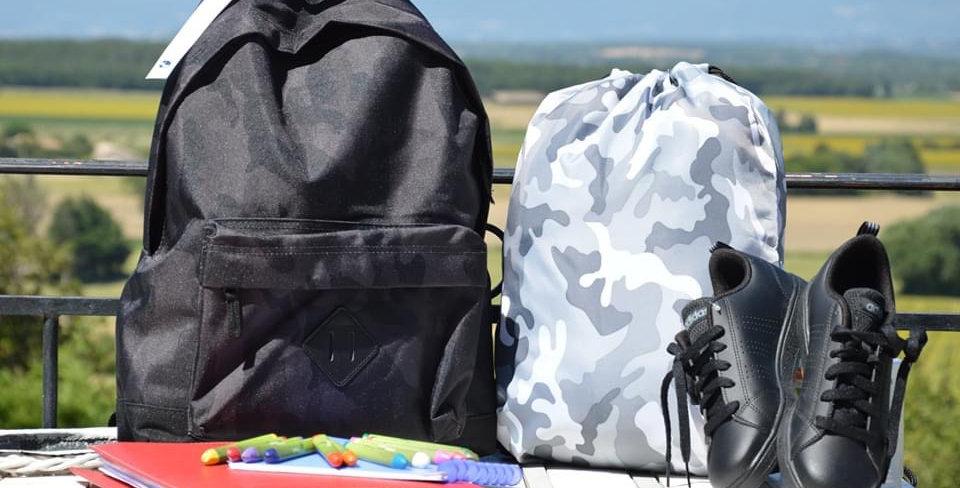 Sacs à dos pour les primaires type camouflage