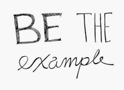 Be the Example this Year