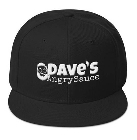 Dave's Angry Sauce Snapback Hat