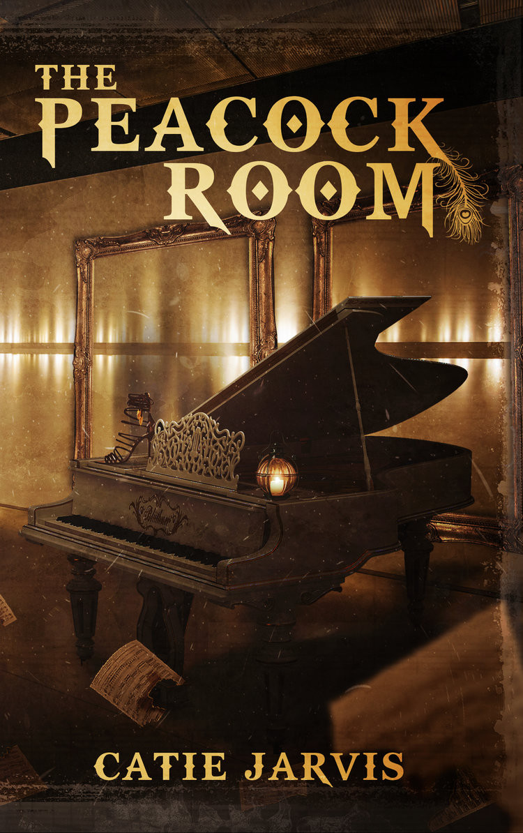 Author Catie Jarvis's book, The Peacock Room