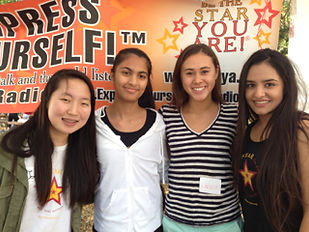 Teen Hosts of Express Yourself!™ Teen Radio