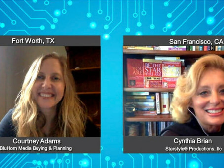 """Cynthia Brian Encourages """"Be Your Authentic Self"""" on BluHorn TV"""