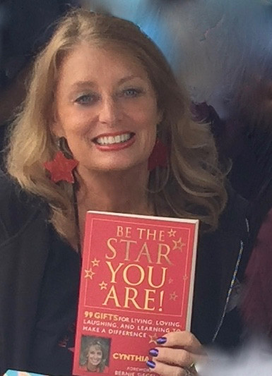 Cynthia Brian with Be the Star You Are!® 99 Gifts book