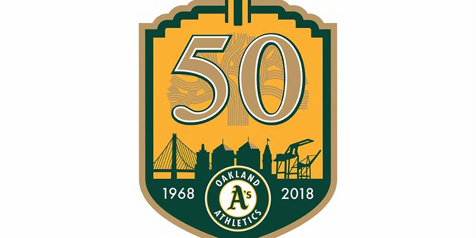 A's versus Angels Baseball Game on June 15th