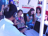 Teens interview guests on the radio