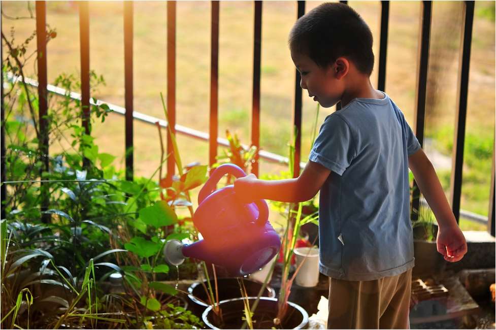 Children love gardening,  Photo Credit: Creative Commons