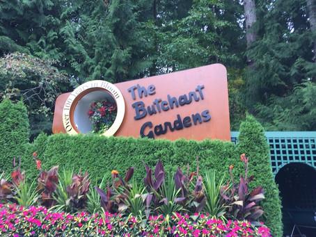 Benvenuto to Butchart Gardens