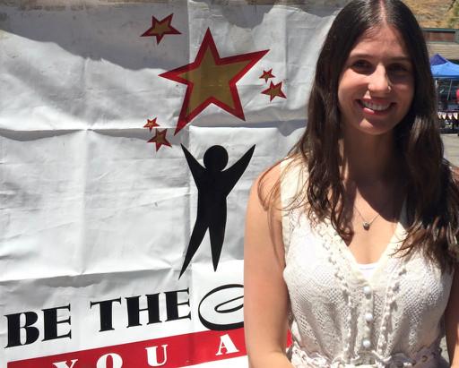 Rachel Glass, volunteer