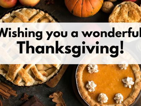 Thanksgiving and Gratitude, Design Trade Secrets, Rebuilding After Disaster