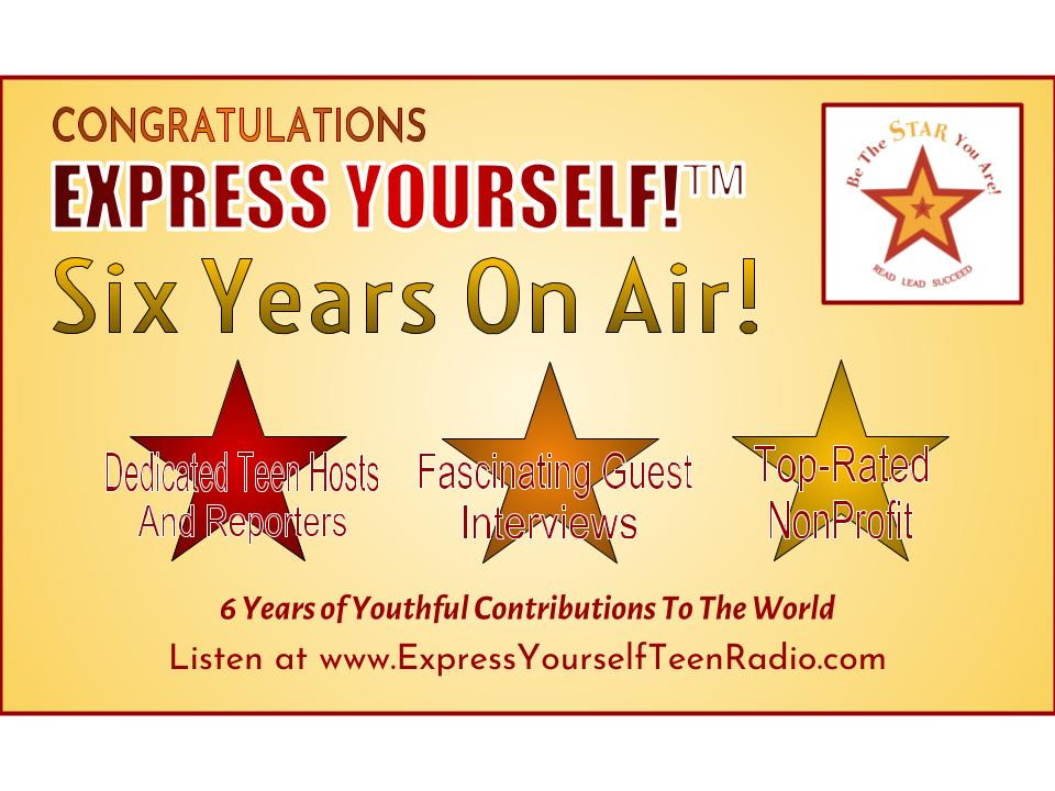 Six years of on air broadcasting by teens!