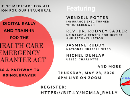 Medicare for All Coalition Day of Action and Digital Rally