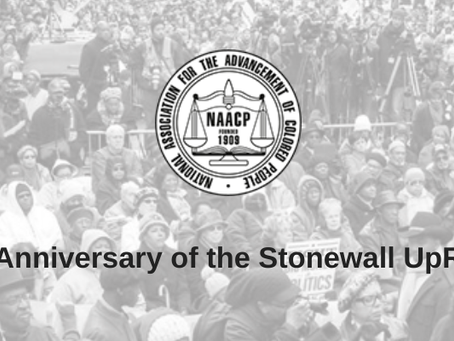 NC NAACP celebrates the 50th Anniversary of the Stonewall Uprising