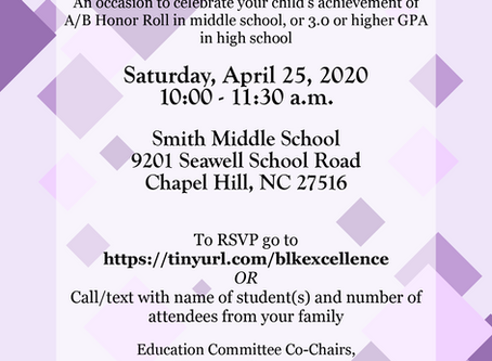 Black Excellence event coming April 25
