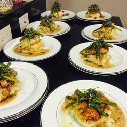 Chicken Marsala Dinner Party
