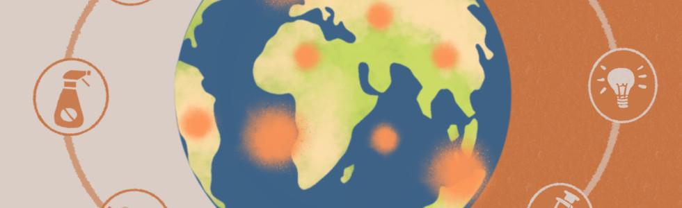 Global Scene under COVID-19