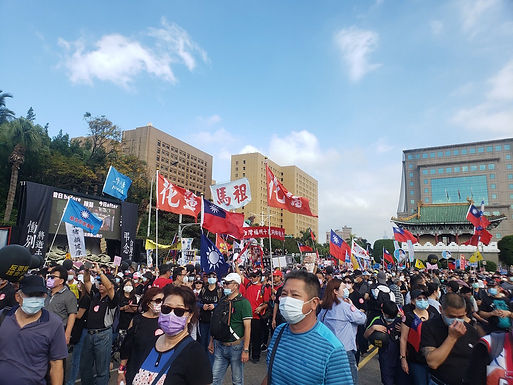 Annual Labor Demonstration Protests American Pork, with Controversy Regarding KMT Co-optation Claims