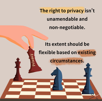 Is the Right to Privacy Sacred?