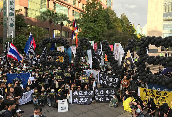 Taiwan March Calls Release of 12 HongKongers Imprisoned While Attempting to Flee To Taiwan