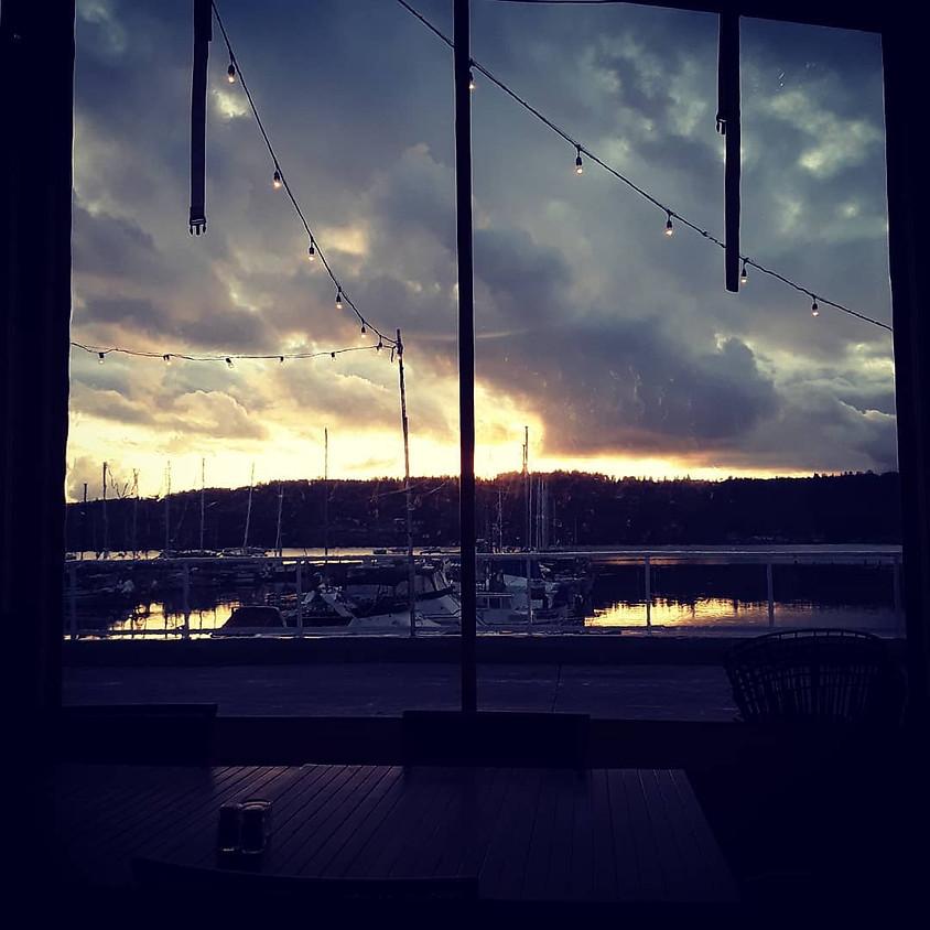 Sunset on Thunder Island
