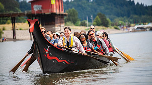 Native Lit Canoe Class