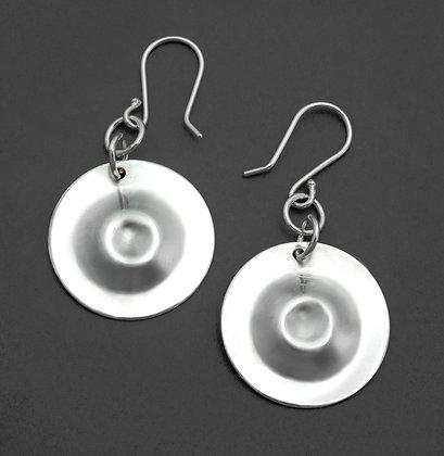 Circular Double Dapped Earrings
