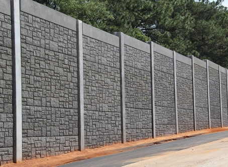 Sound Barrier Fencing - Keeping out Noise Pollution