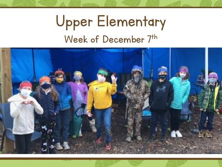 Upper El, 12/7-12/11