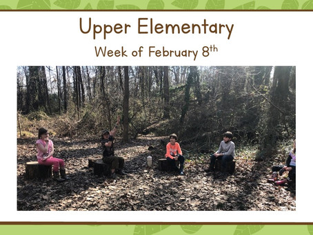 Upper El, Week of 2/8-2/12