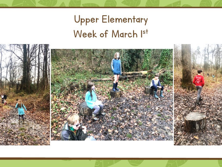 Upper El: 3/1-3/5, Five Full Days!