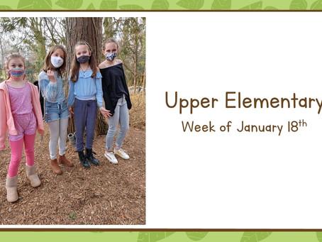 Upper El, 1/18-1/22