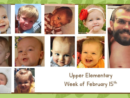 Upper El:  Week of 2/15