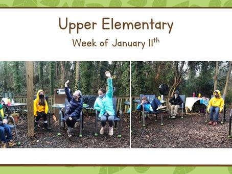 Upper El, Week of 1/11-1/15