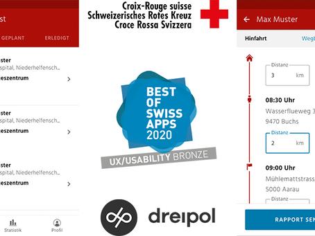 Fahrdienst-App mit «Best of Swiss Apps»-Award ausgezeichnet