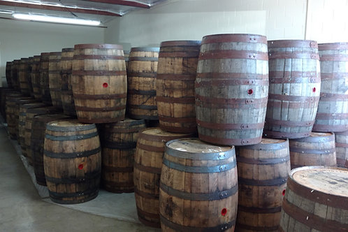 Stack of Whiskey Barrels