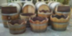 Used Wine BarrelsFor Rent