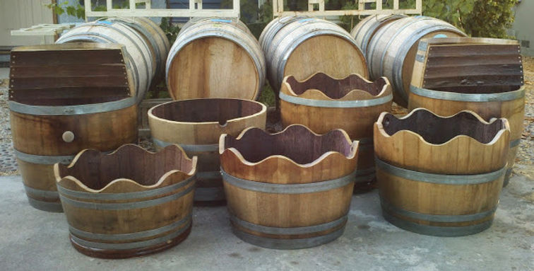 Used Wine BarrelsFor Rent