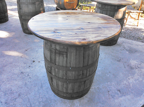 "36"" Round Tabletop - rustic pine"