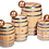 Small Whiskey Barrels and Sizes from 5 gallon to 30 gallon