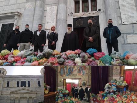 Οι ΕΛΛΗΝΕΣ και ο Ηλίας Κασιδιάρης στο πλευρό της εκκλησίας και των απόρων συμπολιτών μας