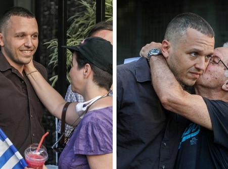 """""""Ισχύς μας η αγάπη του Λαού"""" - άρθρο του Ηλία Κασιδιάρη και εικόνες από την πλατεία Βικτωρίας"""