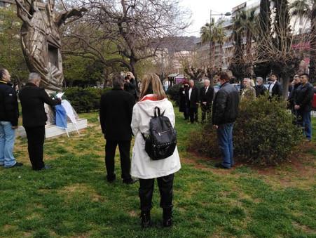 Οι «ΕΛΛΗΝΕΣ» τίμησαν τον αγώνα της ΕΟΚΑ – Το μήνυμα του Ηλία Κασιδιάρη