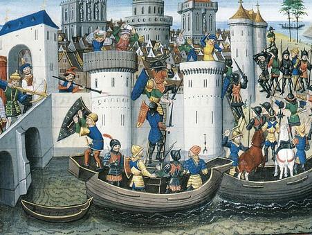 13 ΑΠΡΙΛΙΟΥ 1204: Η Άλωση της Κων/πόλεως από τους Λατίνους Σταυροφόρους