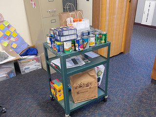NTA Membership Helps Replenish Newington Food Pantry