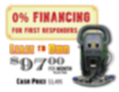Special financing first responder