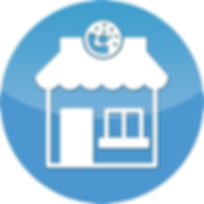 Bakery building icon