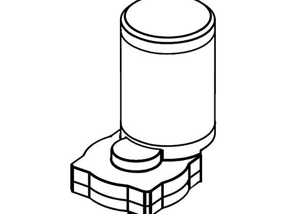 Brush Motor Kit 24VDC 3/4HP