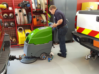 Improving Firehouse Floor Care is Simple